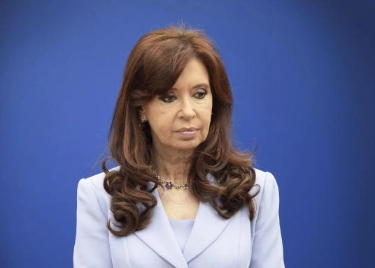 La vicepresidenta Cristina Fernández volvió a proponer una reformulación del sistema de salud