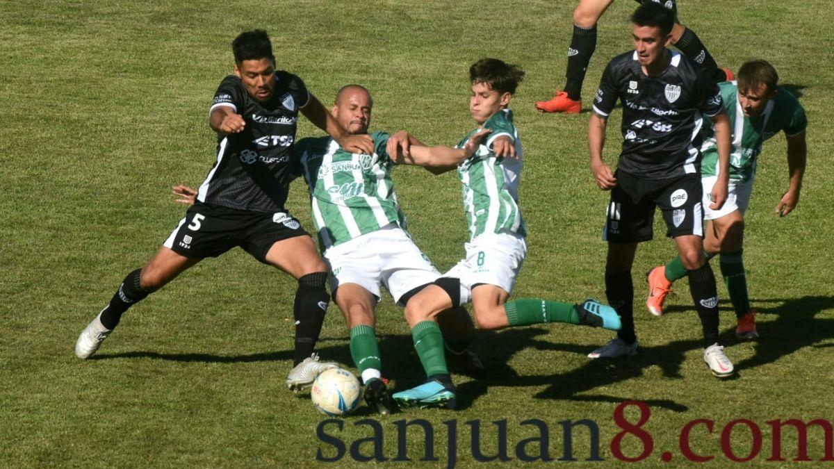 Desamparados ganó y cortó la racha de 11 partidos sin poder sumar de a tres. Fotos: Adrián Carrizo.