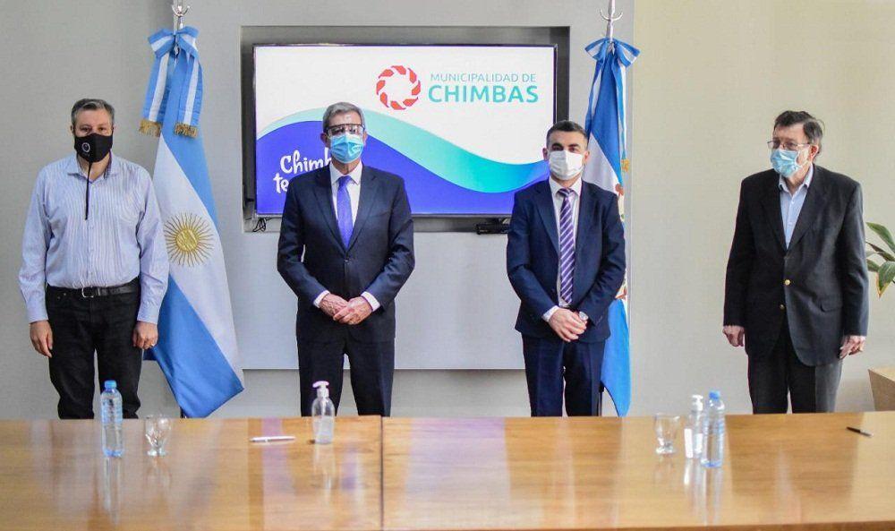Chimbas: comienzan los trabajos para el ordenamiento territorial y productivo