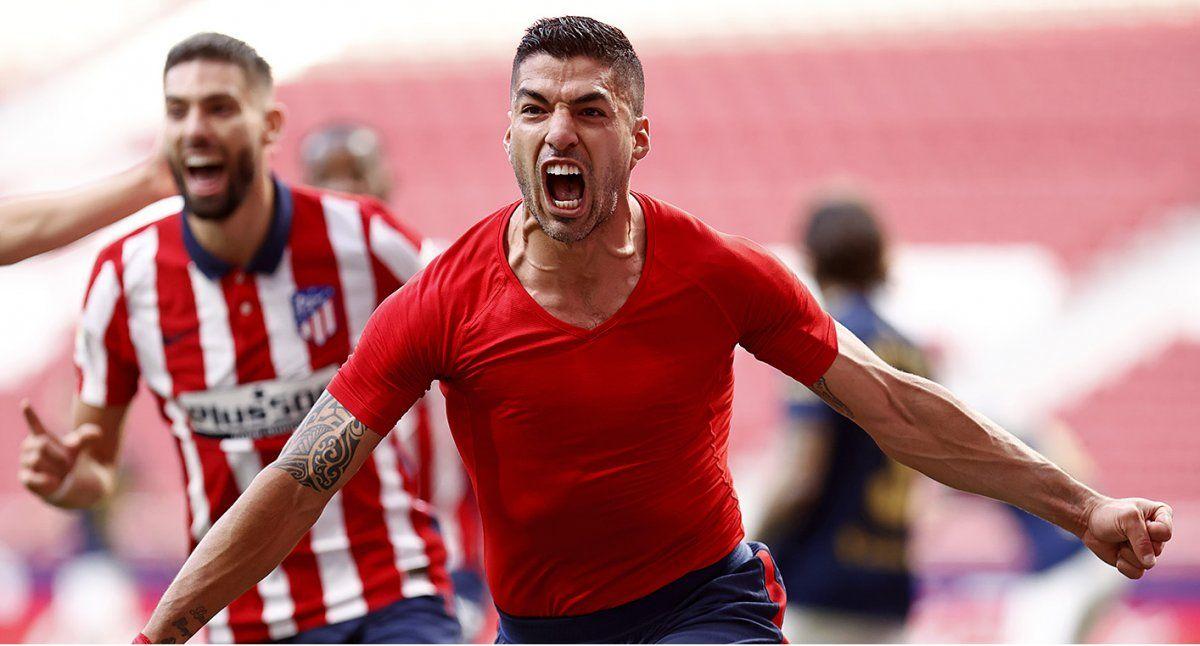 El Atlético de Simeone lo dio vuelta en el final y sueña