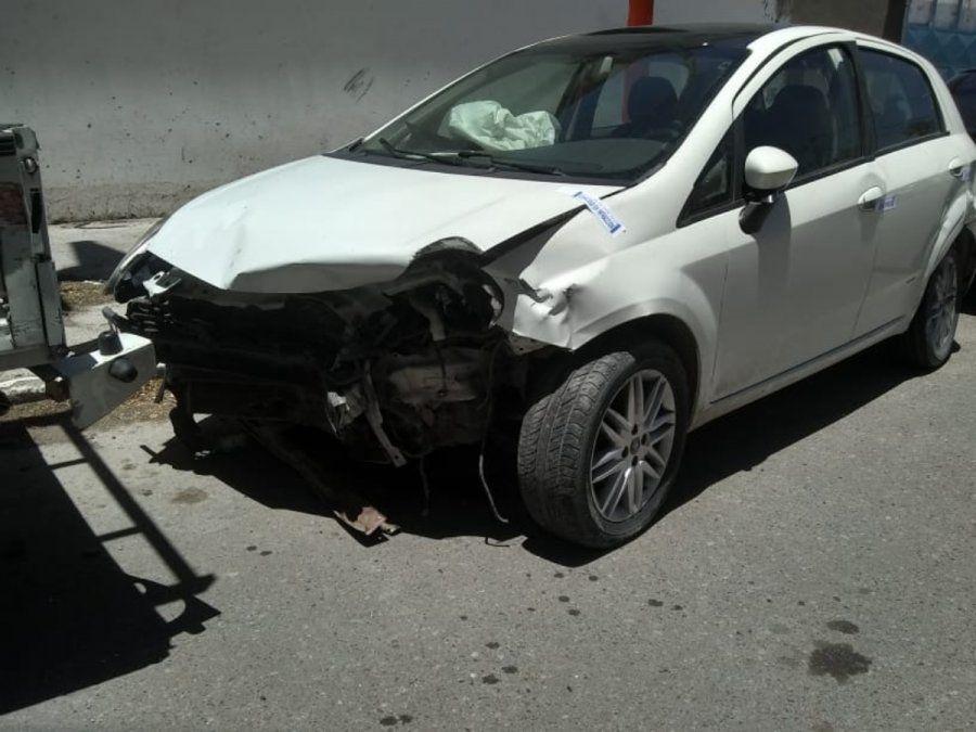 Accidente vial en Chimbas.