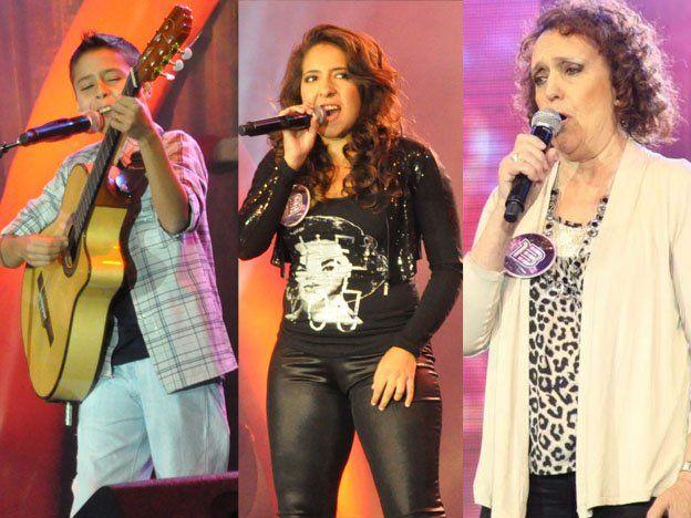 Tres artistas sanjuaninos están cerca de pasar a la final del Soñando por Cantar