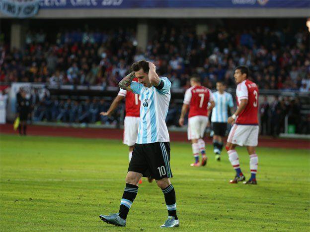 Fuerte enojo con Messi y multa para la Selección