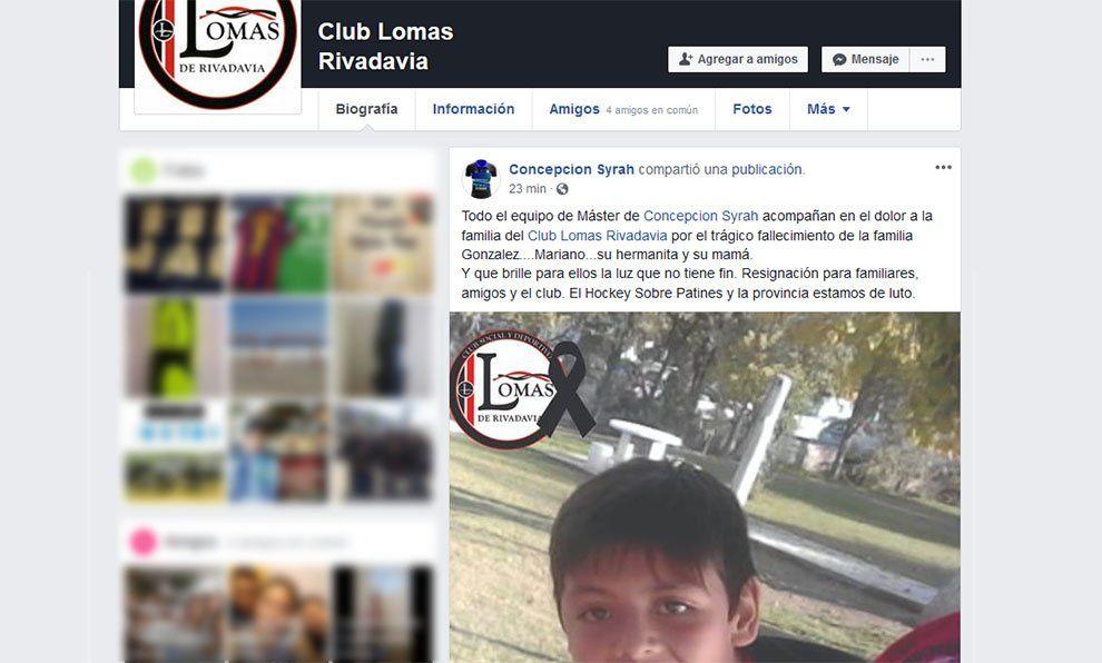 Dolor en las redes sociales por los hermanitos que murieron junto a su mamá en Rivadavia