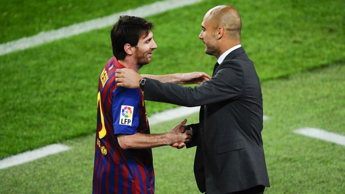Guardiola antes del reencuentro con Messi: Me siento afortunado de ver su fútbol