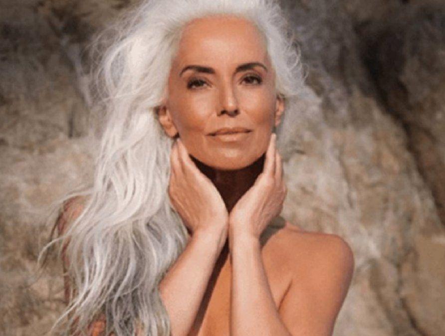 Una abuela la rompe en el mundo de la moda pese a sus 63 años.
