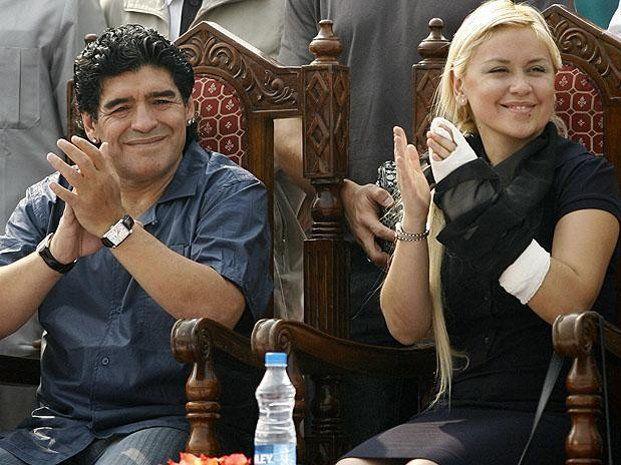 Por ahora no hay acuerdo entre Maradona y Verónica Ojeda