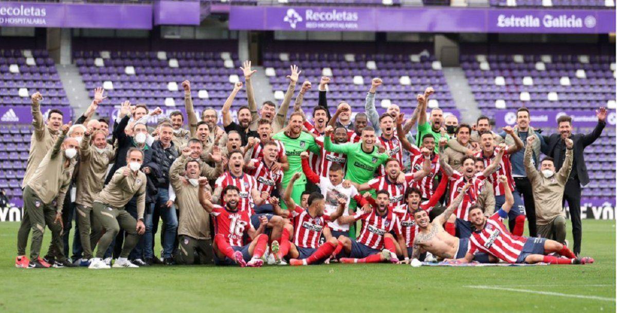 ¡Campeón! El Atlético Madrid de Simeone se coronó en España