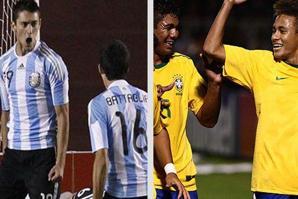 Sub 20: Argentina enfrenta a Brasil en un encuentro caliente por el pase a Londres 2012