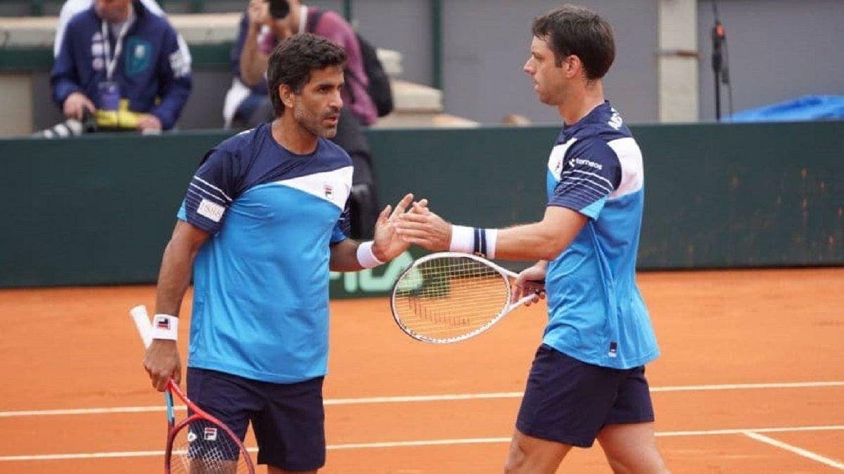 Copa Davis: Zeballos y González se quedaron con el punto en dobles