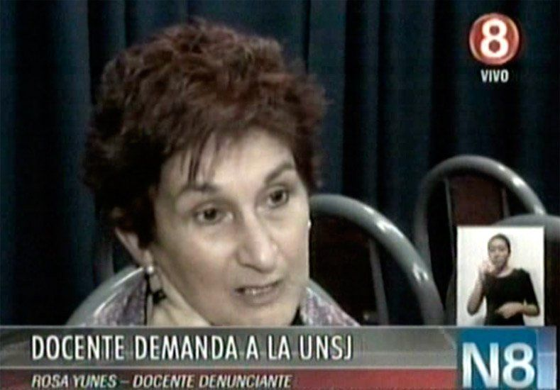 Tras ocho años de espera una docente demandará a la UNSJ por que no le reconocen como empleada