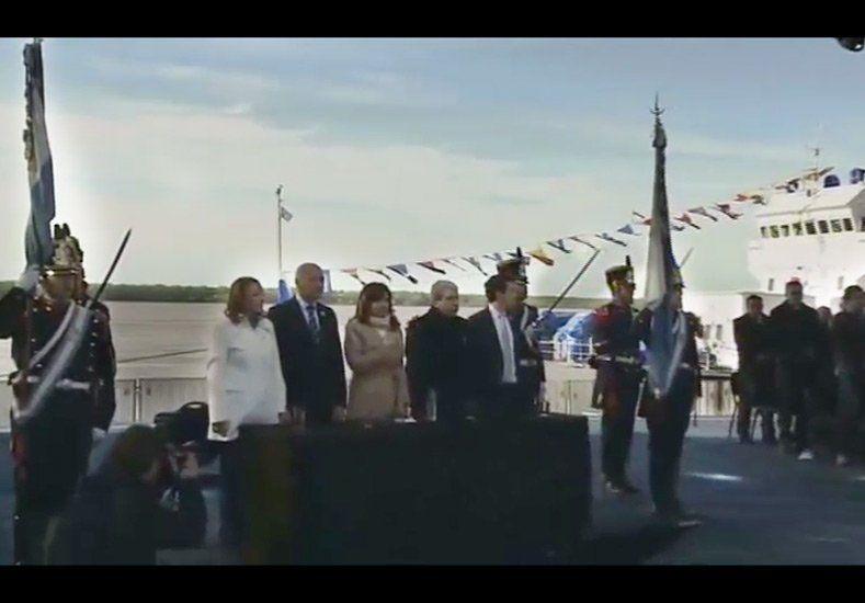 Cristina Fernández usó la Cadena Nacional en el Día de la Bandera pero no adelantó su futuro