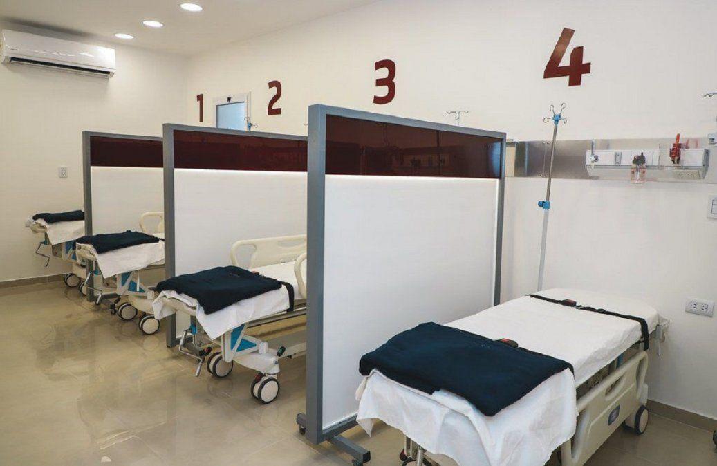 Aumentó la cantidad de camas ocupadas en el ámbito privado.