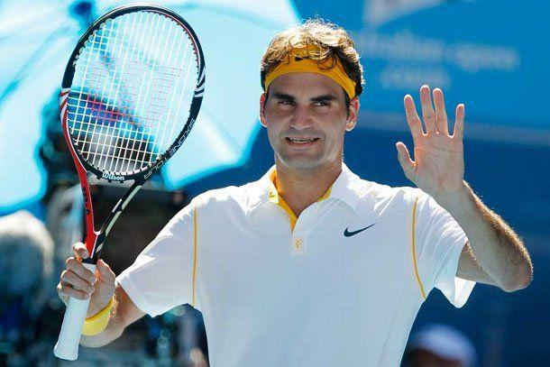 Tenis: Federer ya está entre los ocho mejores en Australia