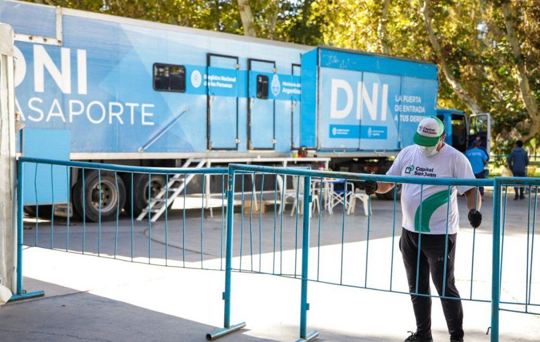 Lo que tenés que saber del Camión de DNI en el Parque