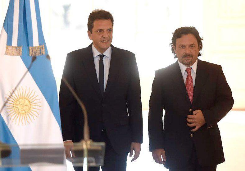 Massa presentó a su candidato a vice: Sáenz representa la mirada del interior profundo del país