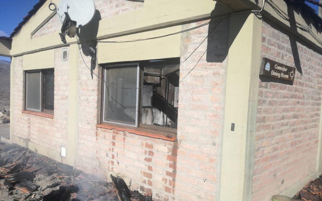 El comedor del Observatorio El Leoncito sufrió un voraz incendio: las pérdidas fueron totales