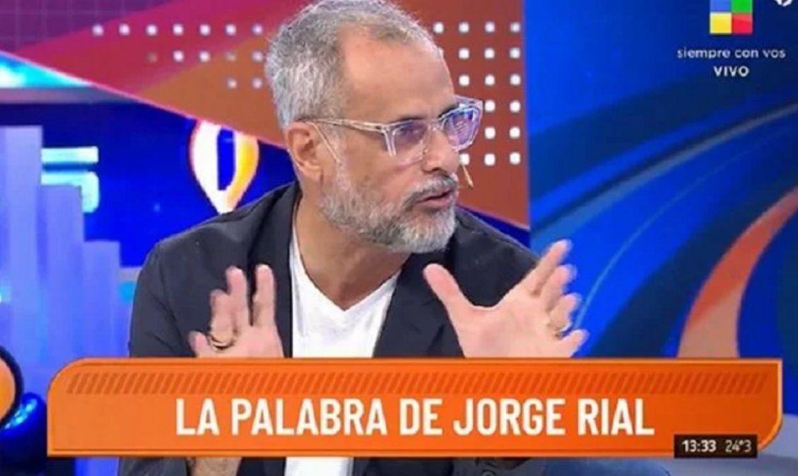 Jorge Rial adelantó cómo será su nuevo programa