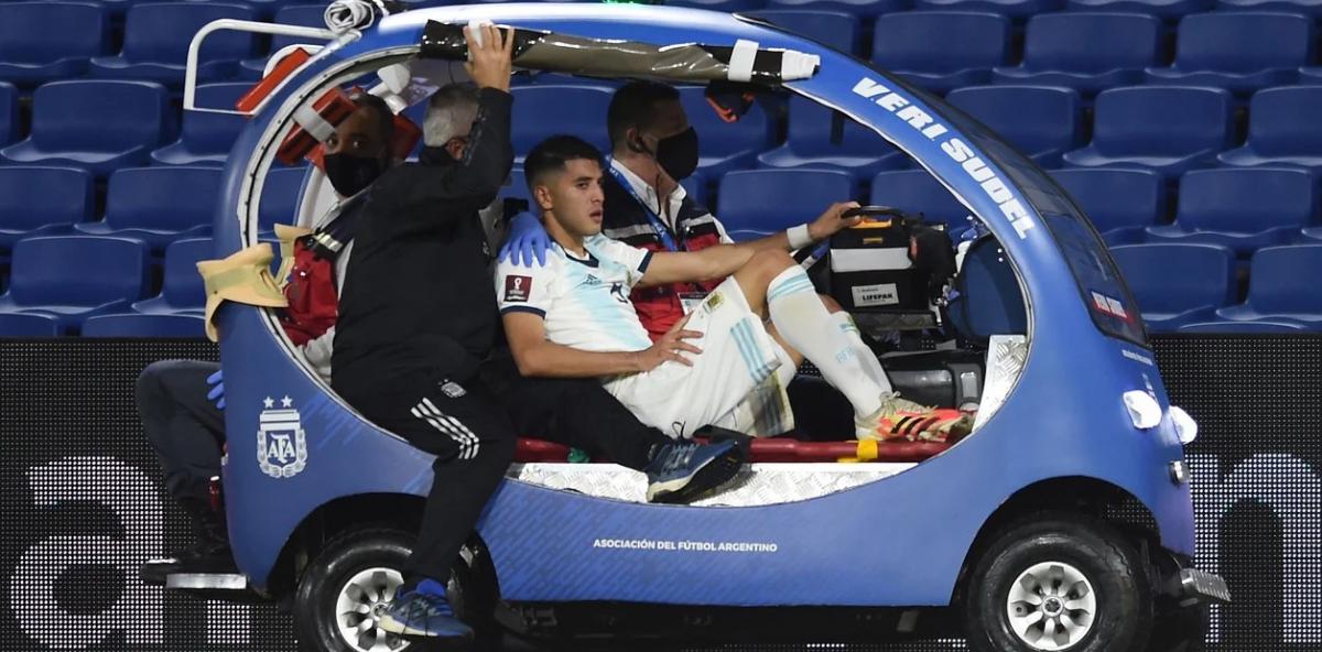 Palacios sufrió una fractura y estará varios meses sin jugar