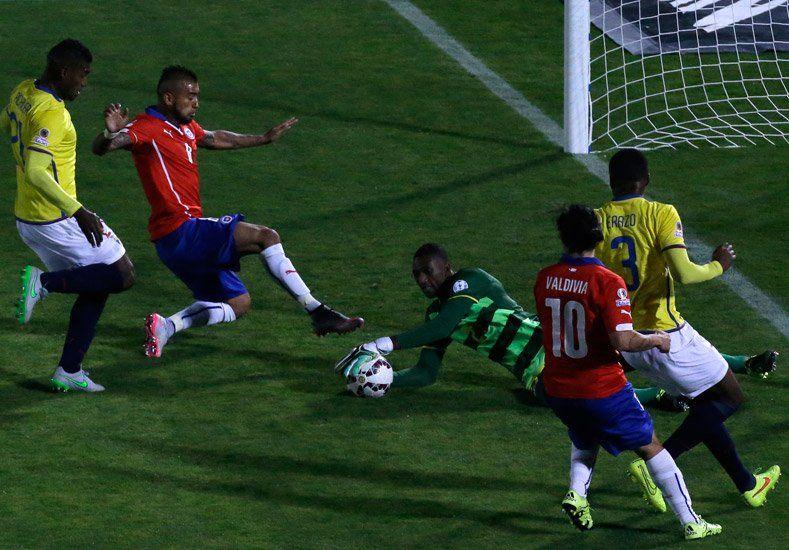 Chile arrancó su Copa América con el pie derecho