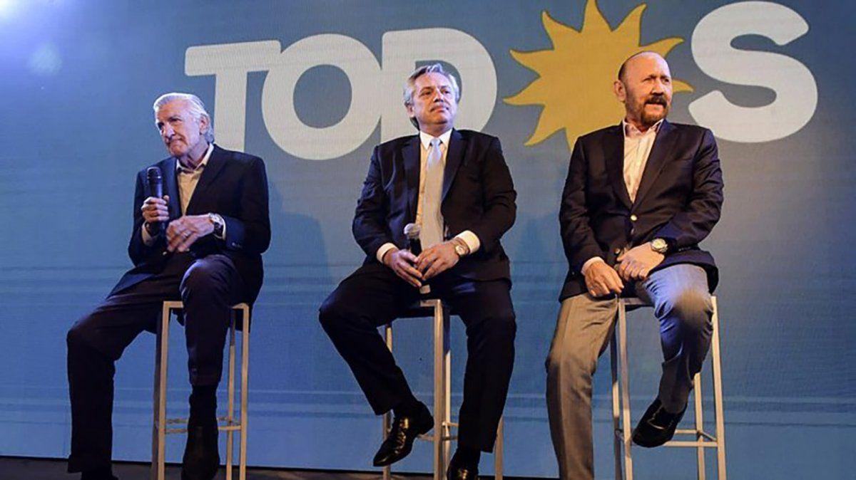 Gioja se despide del PJ y Fernández asume como presidente