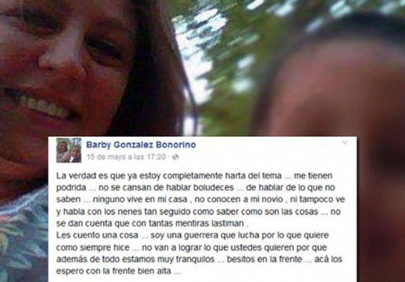 La madre del niño asesinado a golpes defendió a su pareja en Facebook
