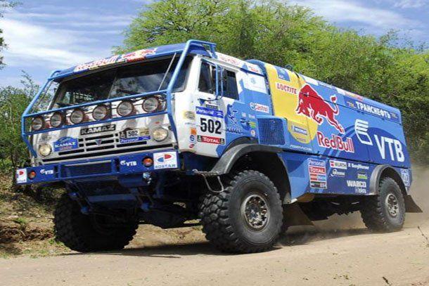 Dakar: Firdaus Kabirov ganó la quinta etapa y quedó de líder de la general