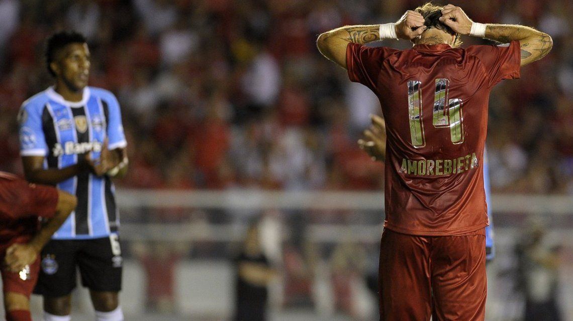 Gremio Le Arrebat U00f3 Al Rojo La Recopa Sudamericana En Los