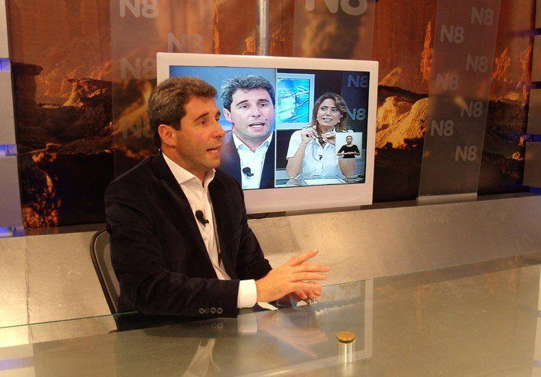 Uñac sobre Zannini como vice de Scioli: La gente se fija en el candidato a presidente y a gobernador
