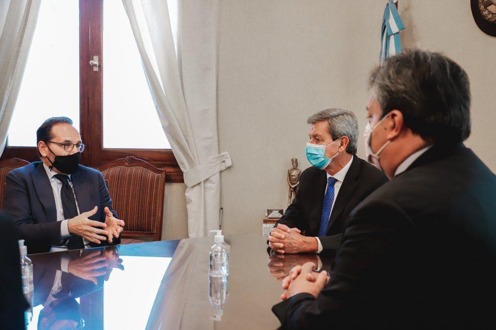 Trabajarán para logar acuerdos de cooperación entre San Juan e Italia