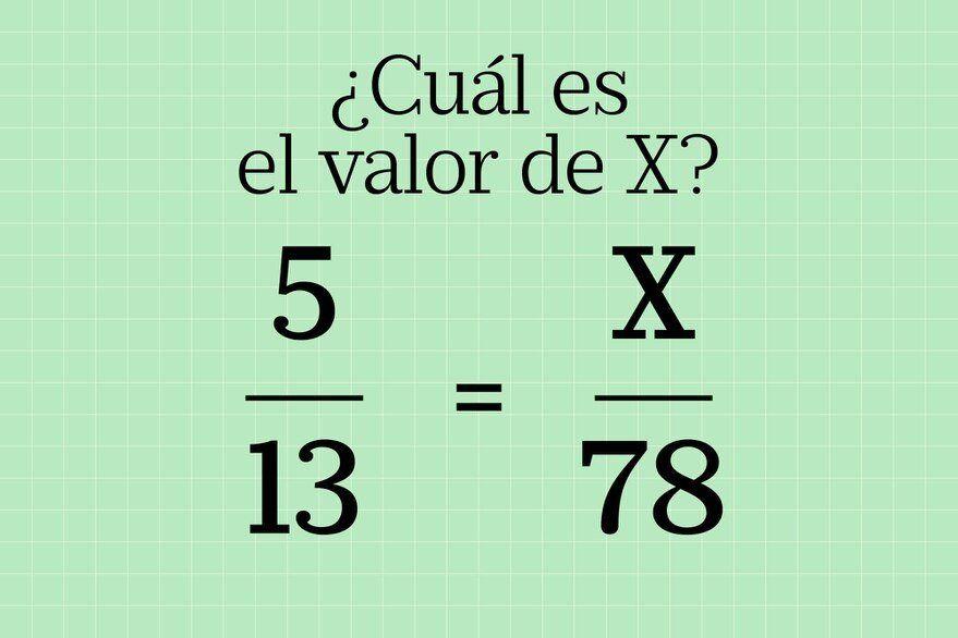 Hacé el acertijo matemático que vuelve locos a todos