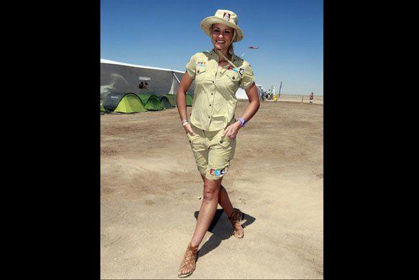 Mirá la chica más linda del Dakar 2011