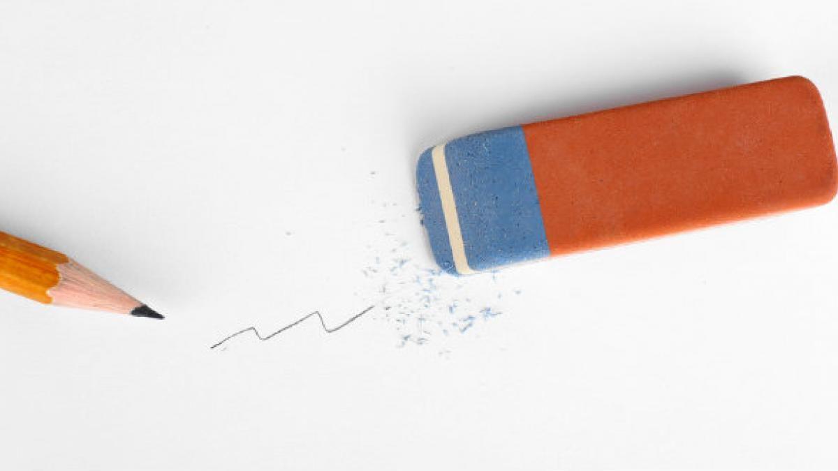 Fin al misterio: explicaron para qué sirve la parte azul de la goma.