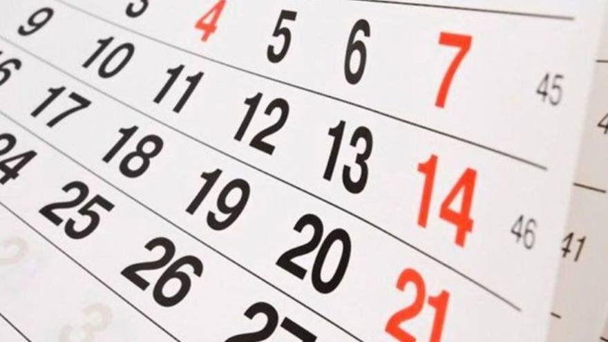 Así queda el calendario de feriados, tras la suspensión del 24 de mayo
