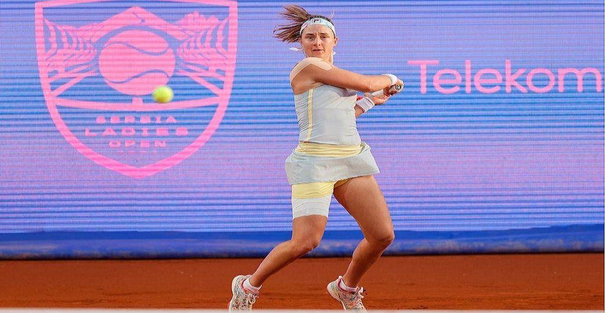 Podoroska perdió y se quedó sin semi en el WTA de Belgrado