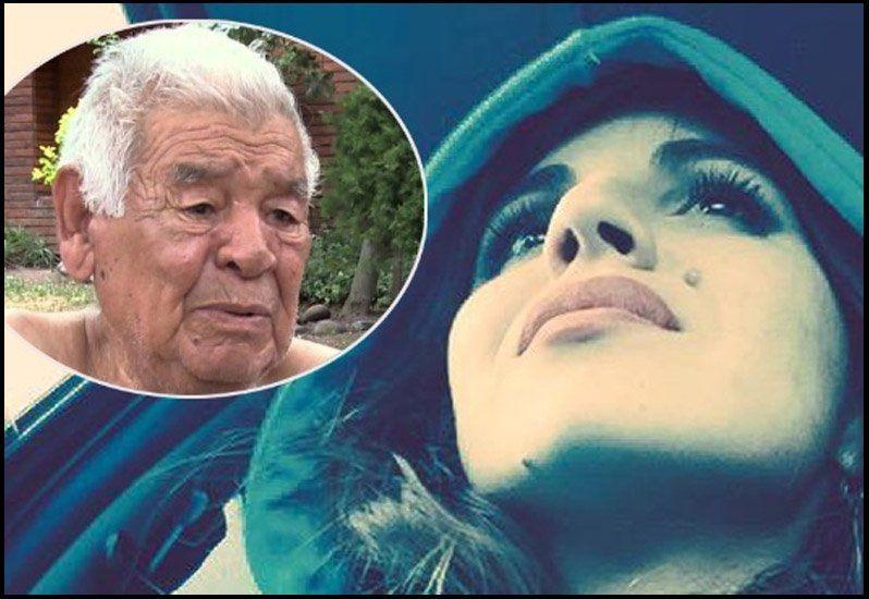 Gianinna y un mensaje alentador para la salud de Don Diego Maradona