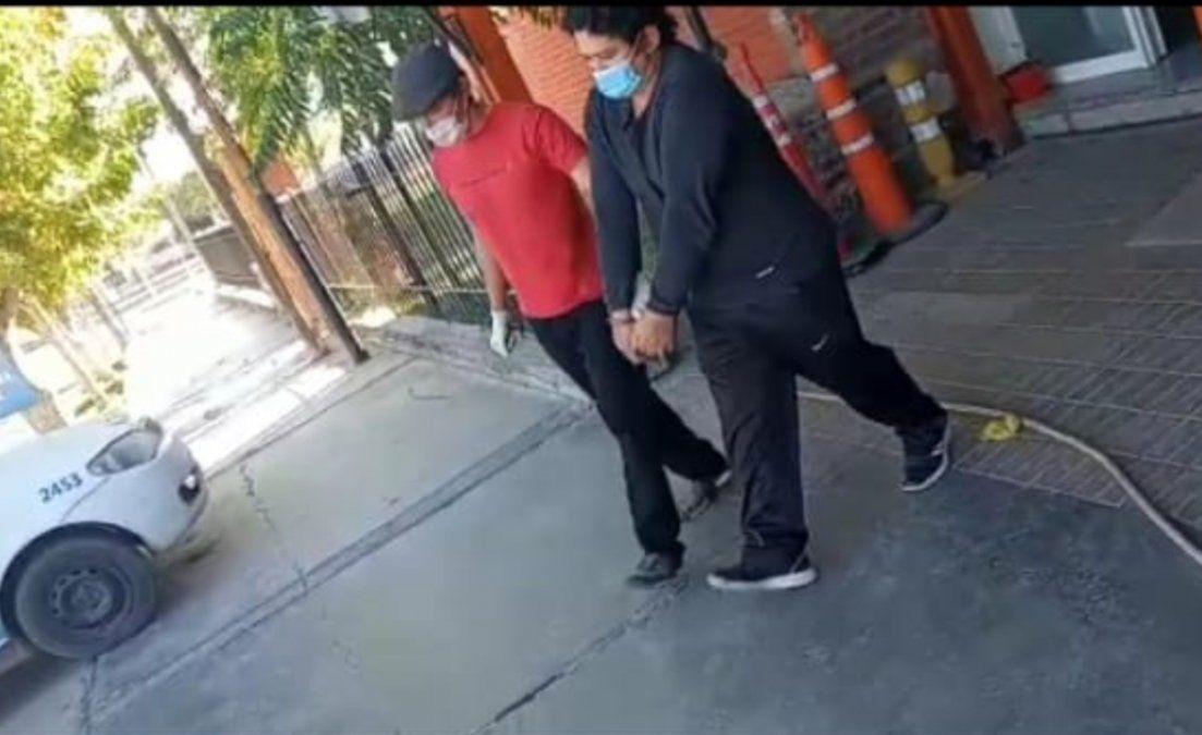 Jesús Antonio Mereles ya se encuentra detenido en la Central de Policía.