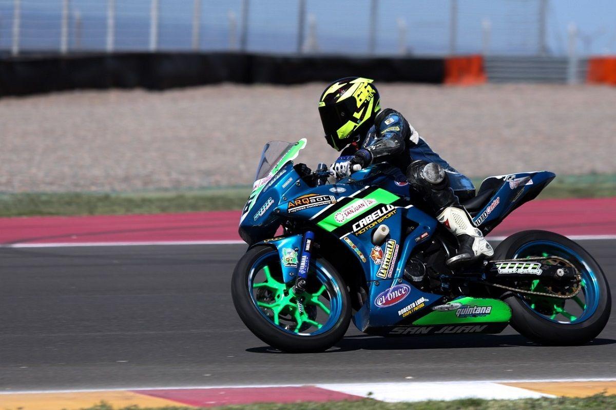 Mauricio Quiroga en el Circuito San Juan Villicum.