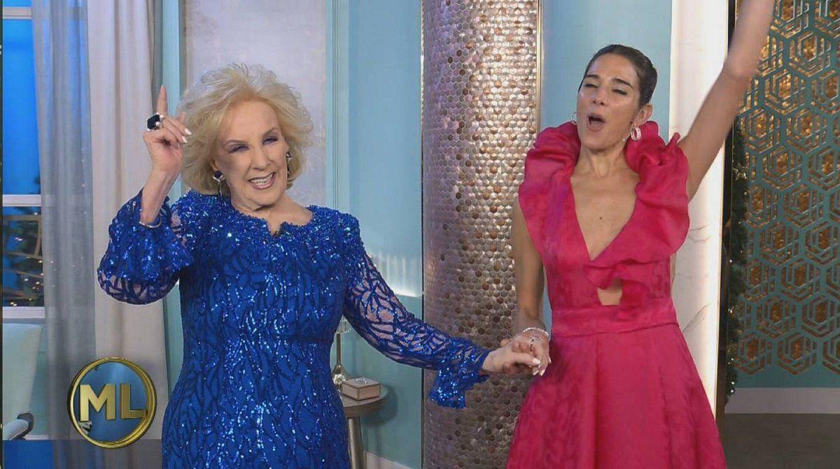 Juana Viale le pidió a Mirtha Legrand que regrese a la televisión