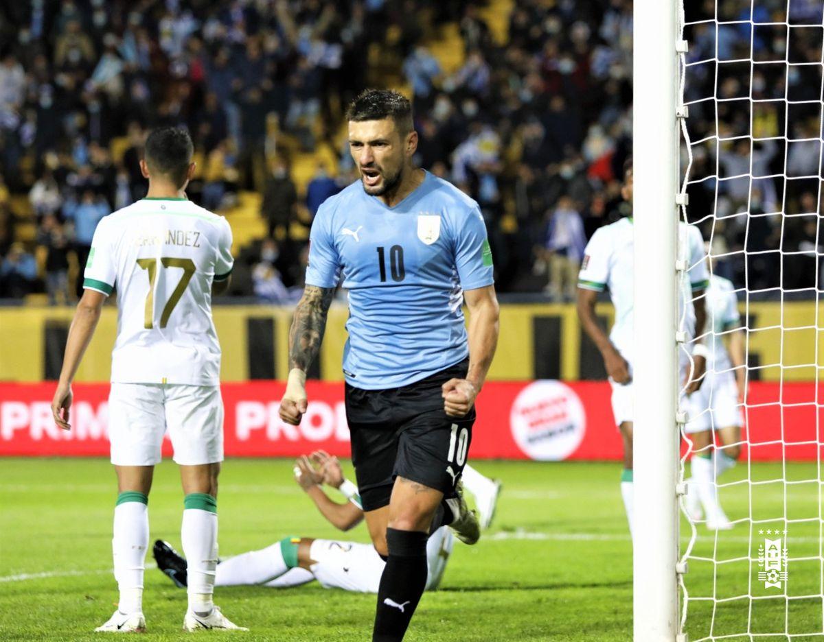 Uruguay fue más que Bolivia y le ganó en Montevideo