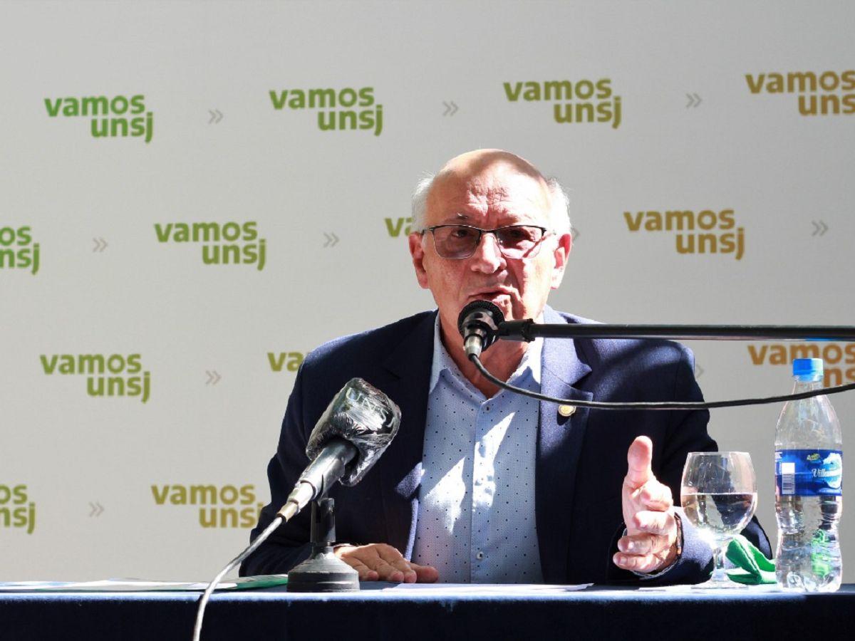 Tadeo Berenguer se impuso sobre Cocinero y es el nuevo rector de la UNSJ
