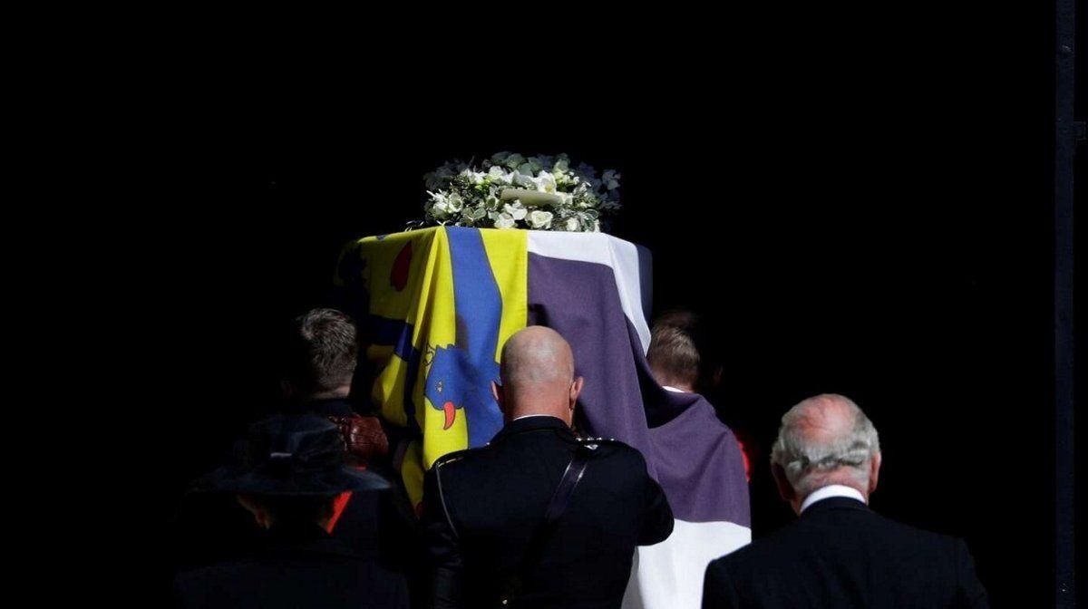 El último adiós al príncipe Felipe