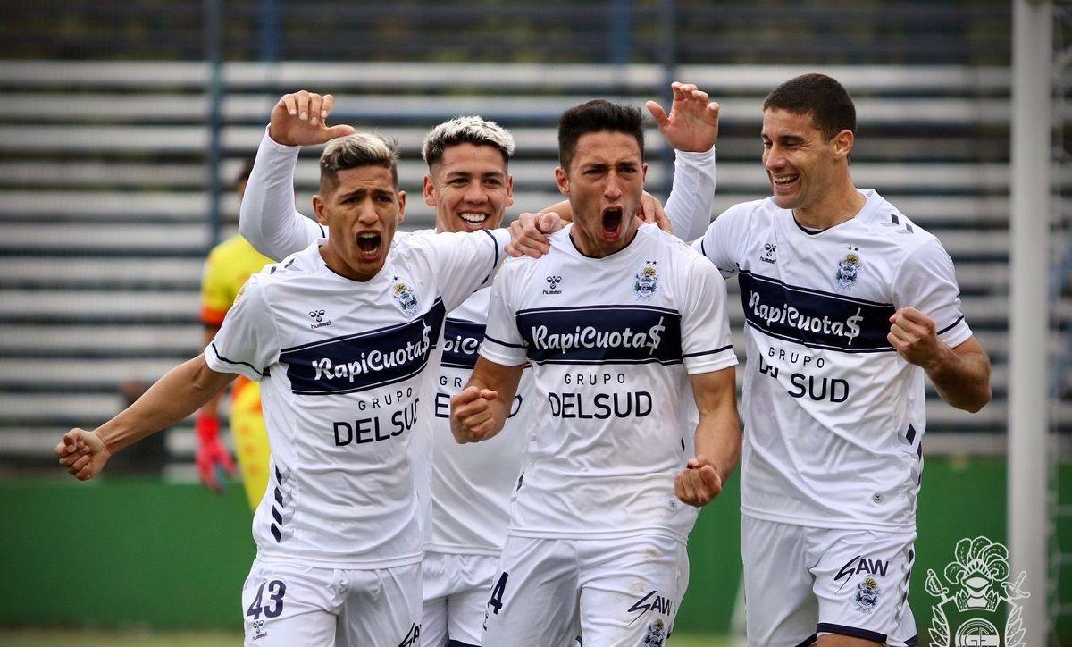 Liga Profesional: Gimnasia venció a Unión de local