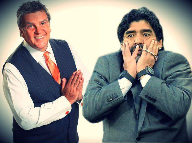Detalles exclusivos de la reunión entre Ventura y Maradona