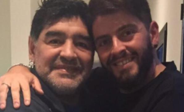 Diego Jr. intentará llegar al país para llegar al país para acompañar a su padre