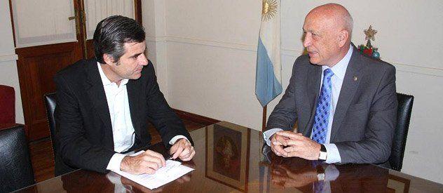 Bonfatti y el titular del PJ hablaron sobre una reforma constitucional
