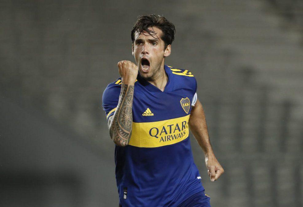 Mas marcó un gol y Boca le ganó a Defensores de Belgrano