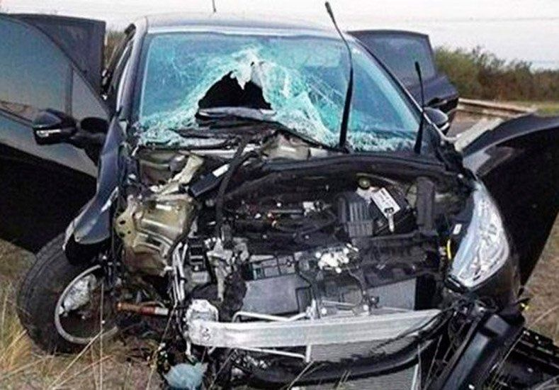 Un jugador de Boca sufrió un importante accidente vial