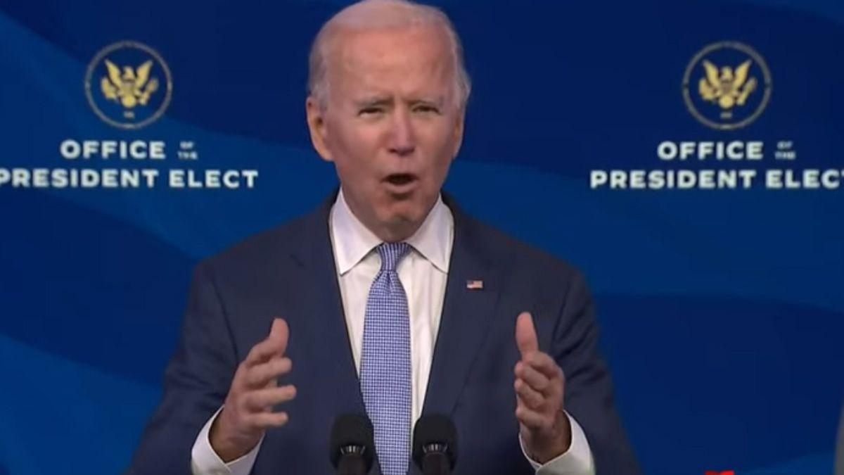 Joe Biden se pronunció tras los incidentes ocurridos durante la tarde de este miércoles.