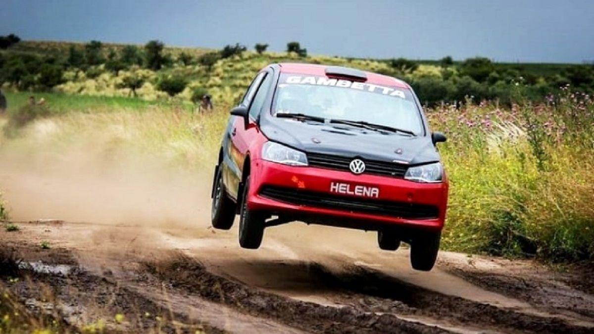 Podio sanjuanino en el Rally Master de San Luis